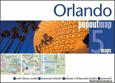 Orlando Popout Map PopOut Maps Sheet map folded New Book Free UK Delivery