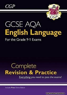 New GCSE English Language AQA Complete Revision & Practice - New Paperback Free