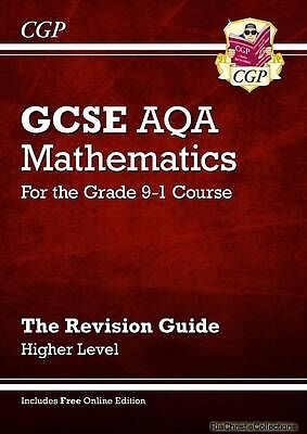 New GCSE Maths AQA Revision Guide Higher - for the Grade 9- New Paperback Free U