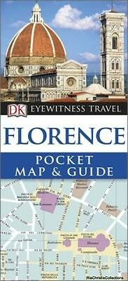 DK Eyewitness Pocket Map and Guide Florence DK Publishing Paperback New Book Fre