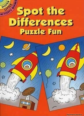 Spot the Differences Puzzle Fun Fran Newman-DAmico Paperback New Book Free UK De
