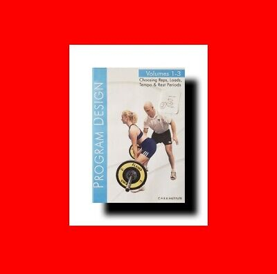 ☆Rare 3 Dvd Set^personal Training- Trainer Program Design-Weights+Reps+Intensity