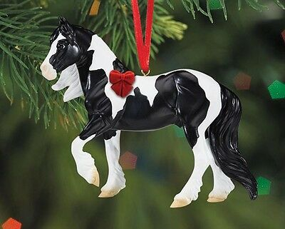 Breyer Holiday Collection #W700517 Gypsy Vanner - Beautiful Breeds Ornament - N