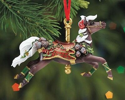 Breyer Holiday Collection #W700620 Tartan Carousel Ornament - New Factory Sealed