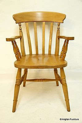 Farmhouse Kitchen Chair Lath Back. FREE Nationwide Delivery