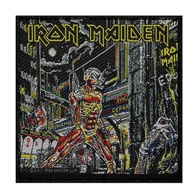 """""""Iron Maiden"""" Somewhere in Time Album Art Heavy Metal Band Sew On Applique Patch"""