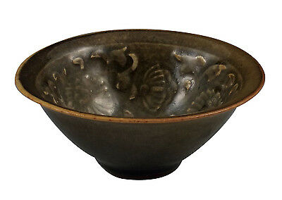 Chinese Song Dynasty Bowl w/ Carved Designs