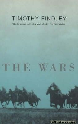 The Wars Timothy Findley New Paperback Free UK Post