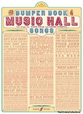 Bumper Book of Music Hall Songs Paperback New Book Free UK Delivery