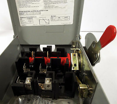 1 New General Electric Tg3221R Safety Switch