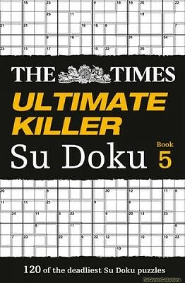 The Times Ultimate Killer Su Doku 9780007516926 The Times Mind Games Paperback N