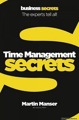 Time Management Martin Manser Paperback New Book Free UK Delivery