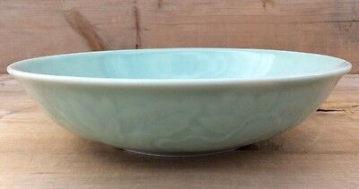 "Chinese Longquan Celadon 9"" Serving Bowl"