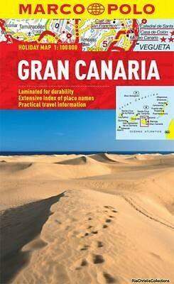 Gran Canaria Marco Polo Holiday Map New Paperback Free UK Post