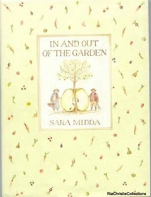 In and Out of the Garden Sara Midda New Hardback Free UK Post