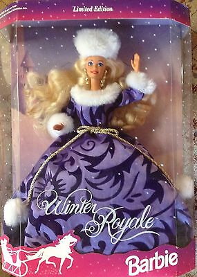 Barbie Doll Winter Royale 10658 NRFB 1993 Christmas New in Box