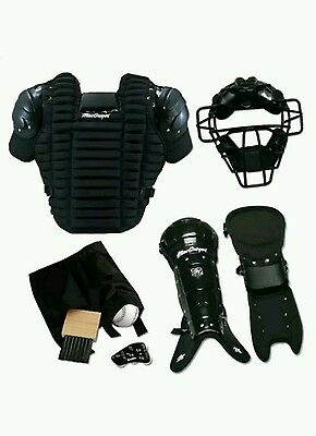 Macgregor Umpire Pack Complete Equipment Gear Mask Chest Protector Leg Guards