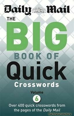 Daily Mail Big Book of Quick Crosswords Daily Mail New Paperback Free UK Post