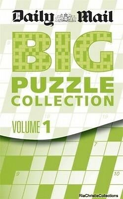 Big Compendium of Puzzles Daily Mail New Paperback Free UK Post