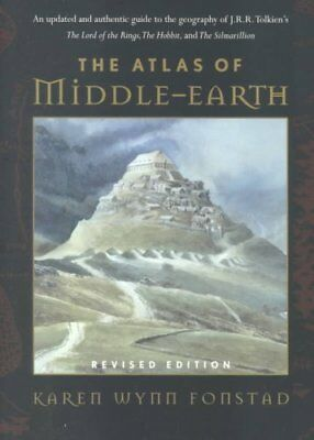 The Atlas of Middle Earth by Karen Wynn Fonstad 9780618126996 (Paperback, 2002)