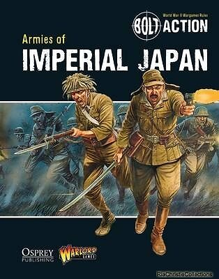 Bolt Action Armies of Imperial Japan Warlord Games Agis Neugebauer Peter Dennis