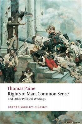 Rights of Man Common Sense and Other Political Writings Thomas Paine