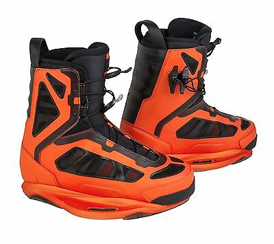 Ronix 2015 Parks Boot Orange Size 13-14 Wakeboard Binding