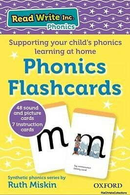 Read Write Inc. Home Phonics Flashcards Ruth Miskin Tim Archbold Cards New Book