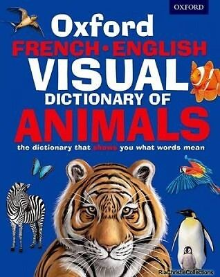 Oxford French-English Visual Dictionary of Animals New Paperback Free UK Post