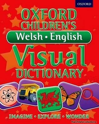 Oxford Childrens Welsh-English Visual Dictionary New Paperback Free UK Post