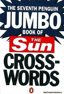 The Seventh Penguin Jumbo Book of The Sun Crosswords New Paperback Free UK Post