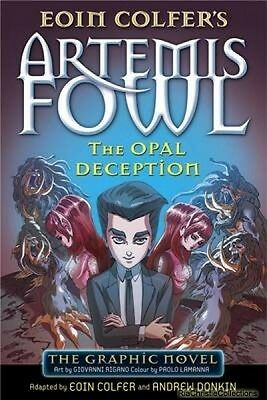 Artemis Fowl The Opal Deception Eoin Colfer Paperback New Book Free UK Delivery