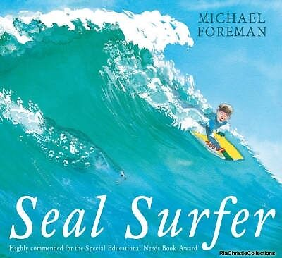 Seal Surfer Michael Foreman Paperback New Book Free UK Delivery