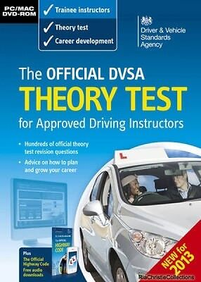 Official DSA Theory Test for Approved Driving Instructors New Paperback Free UK