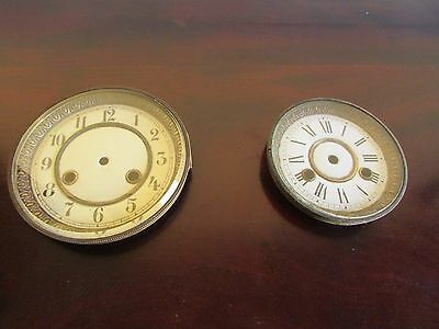 Two 19th Century Clock Dials and Doors c.1880
