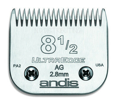 Andis UltraEdge 8 1/2 Clipper Blade (8.5) Detachable Replacement # 64170 7/64""