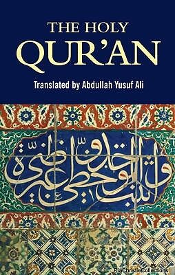 The Holy Quran Abdullah Yusuf Ali Paperback New Book Free UK Delivery