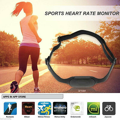 Heart Rate Meter 5.3KHZ Watch Wireless Cardio Sport Chest Strap Belt Heart Rate