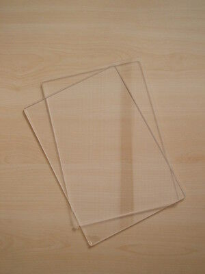 PAIR OF CUTTING PLATES EMBOSSING PADS COMPATIBLE BIG SHOT sizzix