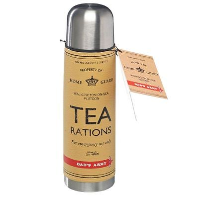 Dad's Army Tea Rations Flask