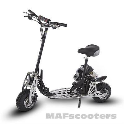 The New MAF Evolution X2T Power 71cc Petrol sport  Scooter 2 gears Sin moto Tyre