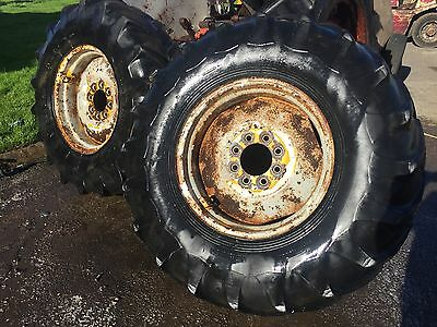 14.9-24 Tyres and Rims to Suit Rough Terrain Forklift