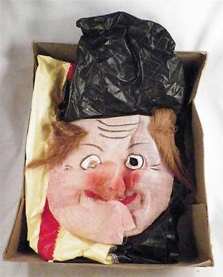 Vintage Halloween Costume Witch Collegeville Original Box Childs Small 4-6 1950s