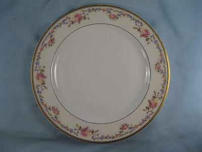 Schleiger 927-1 Luncheon Plate Haviland Co France Limoges Pink Yellow Roses (O2)
