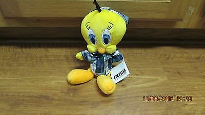 Warner Bros. Tweety Nightshirt Bean Bag Plush NEW
