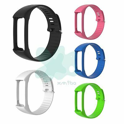 Polar A360 Changeable Wrist Band Small Medium Large Black Green Pink White Blue