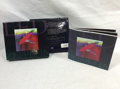 LED ZEPPELIN 2 CD Box Set And Booklet NO CDs Box And Booklet ONLY VGUC