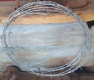50 Feet New Barb Wire Roll Made In The Usa 18 Gauge 4 Pt Arts-Crafts-Pinterest
