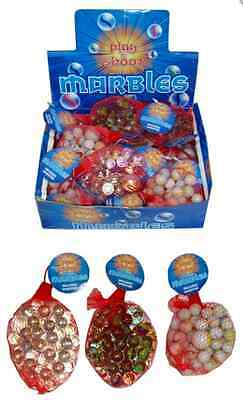 Marbles (20 Pack) + Free Shooter 2 Types: Green And White