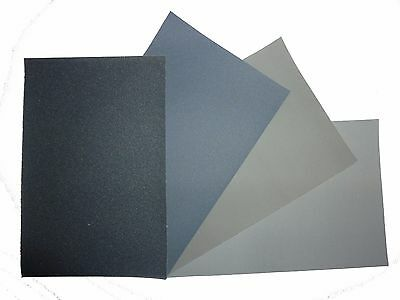"MICRO-MESH Abrasive Polishing Cloth Kit - 4 Sheets of 6""x4"""